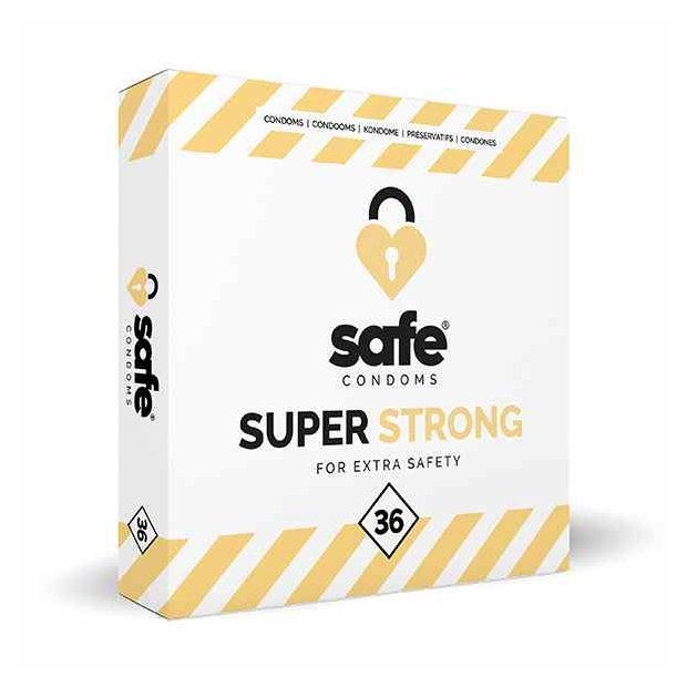 SAFE - Condoms - Super Strong (36 pcs)